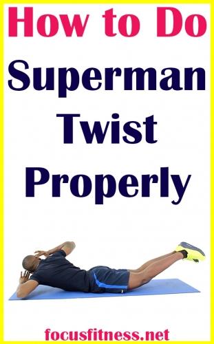 How to do Superman twist