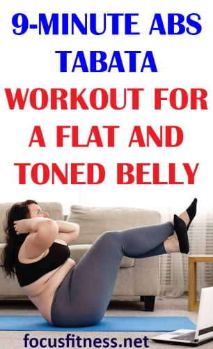 In this article, you will discover the best abs tabata workout for a flat and toned belly you can do anywhere without any equipment. #abs #tabata #workout #focusfitness
