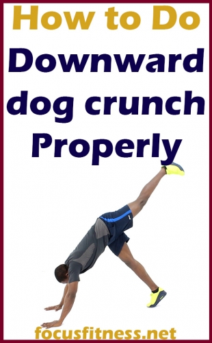 How to Do Downward Dog Crunch Exercise Properly - Focus ...