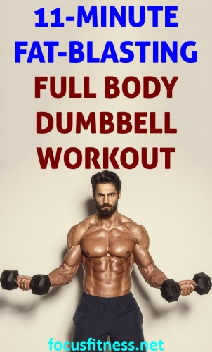 If you want to blast stubborn fat and build lean muscle using dumbbells, use this full body dumbbell workout you can do at home #fullbody #dumbbell #workout #focusfitness