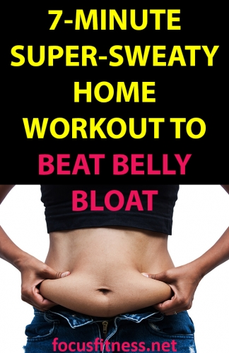 If you're bloated all this time, this article will show you the supper-sweaty home workout to beat belly bloat without any equipment #workout #belly #bloat