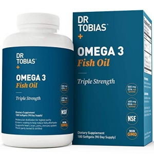 Dr Tobias Omega 3 Fish Oil Supplement