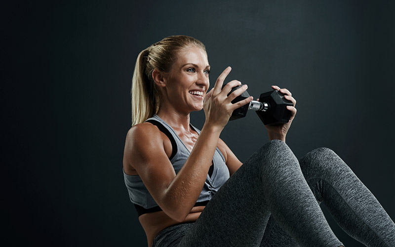 Full body dumbbell workout you can do anywhere