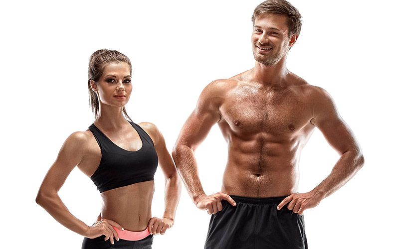 Standing full body workout to build muscle and destroy stubborn fat