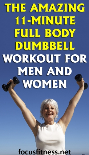 If you want to tone up your body using dumbbells, this article will show you the best workout to do and how to perform each exercise properly #fullbody #dumbbell #workout