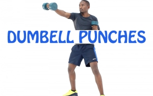 How to do Dumbbell Punches