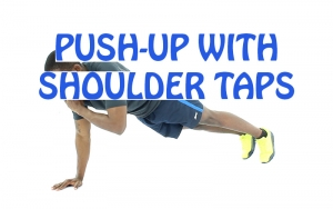 How to do Push-Up with Shoulder Taps