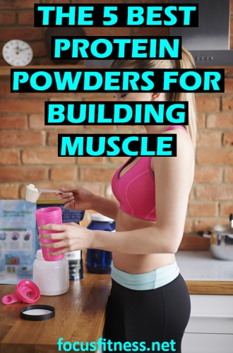 If you want to build lean muscle and get strong, this article will show you the best protein powders for building lean muscle #protein #powder #muscle #focusfitness