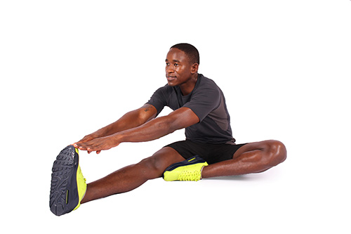 How to Do Toe Touch Hamstring Stretch