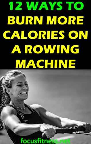 If you want to get fit using an indoor rowing machine, this article will show you how you can burn more calories on a rowing machine #burn #calories #rowing #machine #focusfitness