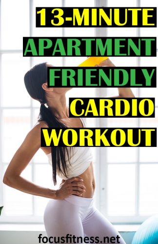 If you want to get in shape while exercising in your apartment, this article will show you an apartment-friendly cardio workout #apartment #cardio #workout #focusfitness