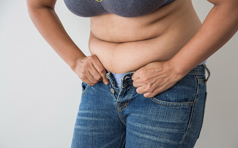 How to Lose Belly Fat with A Bad Back