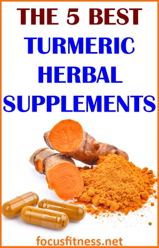 If you want to fight inflammation and improve your health using turmeric, this article will show you the best turmeric herbal supplements #turmeric #herbal #supplements #focusfitness