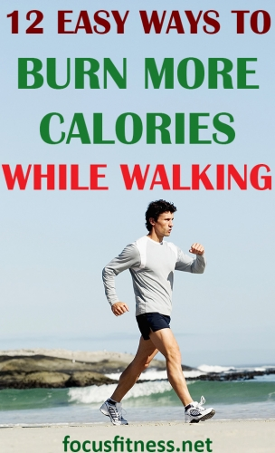 If you want to lose weight through walking, this short article will show you how to burn more calories while walking outdoors. #burn #more #calories #walking #focusfitness