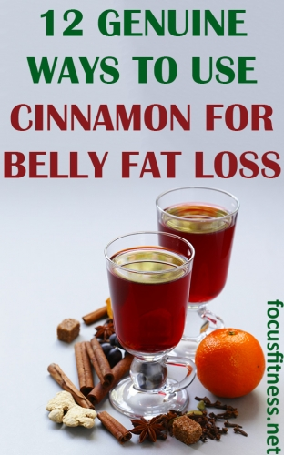 If you want to lose belly fat without starving yourself, this article will show you how you can use cinnamon for belly fat loss #belly #fat #loss #focusfitness