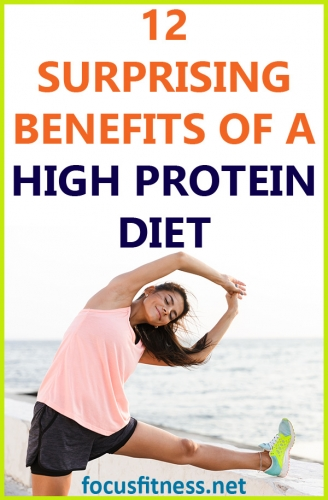 If you want to become lean and strong while maintaining optimal health, this article will show you the benefits of a high-protein diet #high #protein #diet #benefits #focusfitness