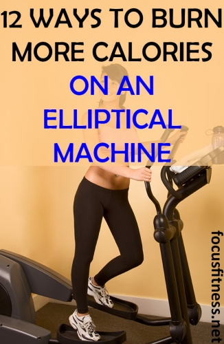 In this article, you will discover simple tricks you can use to burn more calories on an elliptical machine without exercising for hours #burn #calories #elliptical #machine #focusfitness