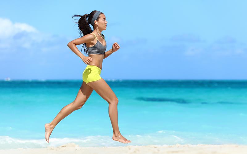 Benefits of Jogging Barefoot