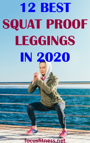 If you're looking for the best squat proof leggings you can wear at the gym or at home, then read the reviews on this article keenly. #squat #leggings #focusfitness