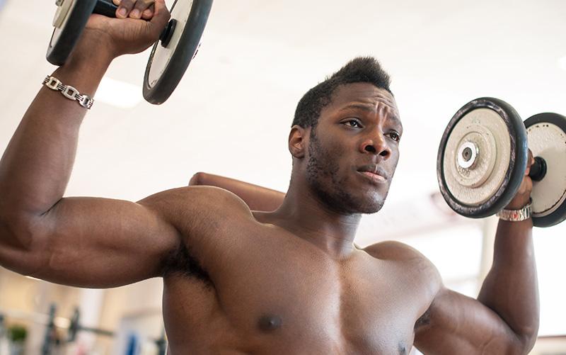 Full body dumbbell workout for strength